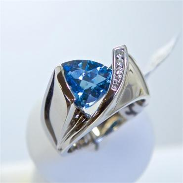 Channel Set Engagement Ring